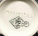 Black Macintyre dish (mark)