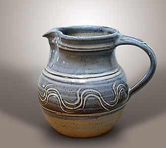 Blue Winchcombe jug