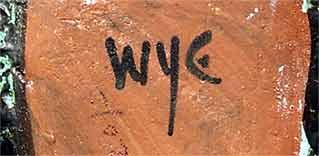 Wye bird dish (mark)