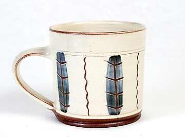 John Solly slipware mug