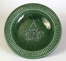 Green Andersen bowl