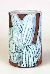 Briglin cylindrical vase