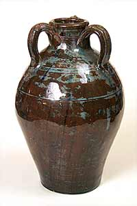 Wells three-handled vase