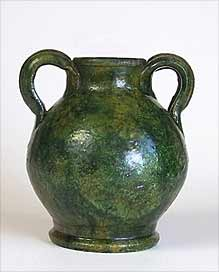 Wells two-handled vase