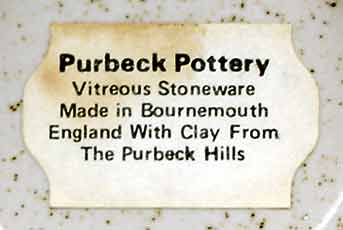 Purbeck squirel dish (label)