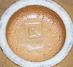 Lucie Rie bowl (mark)