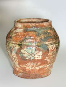 Decorated Hamada pot