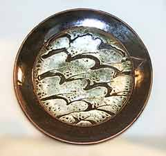 David Leach plate