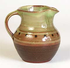 Spotty Winchcombe jug