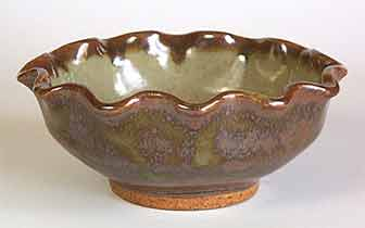 Aylesford fluted bowl