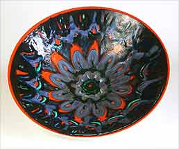 Poole Delphis bowl