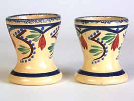 Blue Quimper egg cups