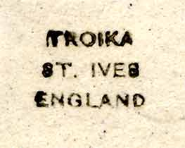 Troika double-eggcup (mark)