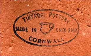 Tintagel vase (mark)