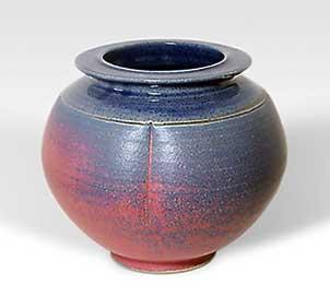 John Vasey globe vase