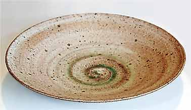 Peter Wills brick clay bowl