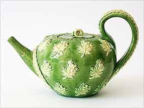Green Rye teapot