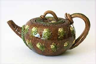 Brown Rye teapot