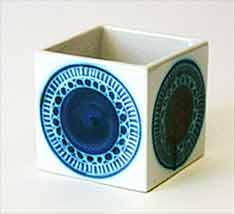 White Troika cube