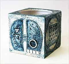 Blue Troika cube