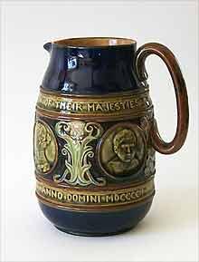 Doulton Edward VII jug