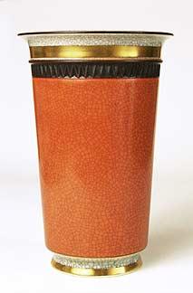 Copenhagen vase with straight sides