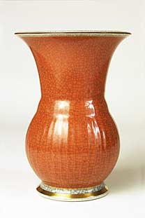 Copenhagen vase with curved sides