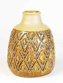 Yellow Søholm vase