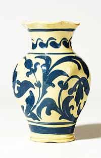 Dimpled Aller Vale vase