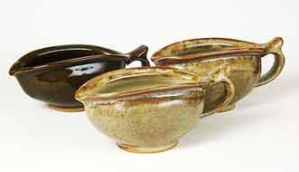 Fleet of Aylesford gravy boats
