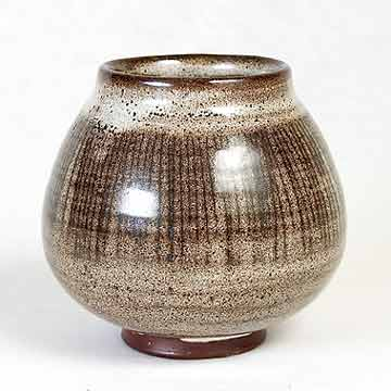 David Leach earthenware pot