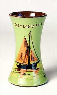 Portland Bill vase