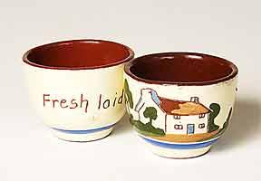 Torquay egg cups