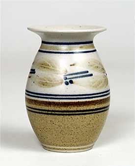 Louise Darby porcelain vase