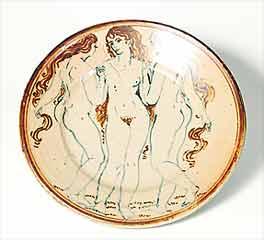 Seth Cardew plate