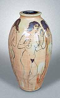 Large Seth Cardew jar