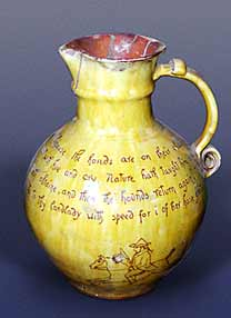E B Fishley harvest jug