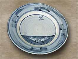 Bernard Leach plate