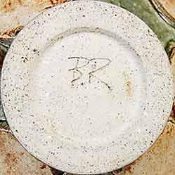 Bernard Rooke frog vase (mark)
