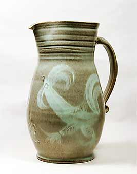 Fishley Holland quart jug