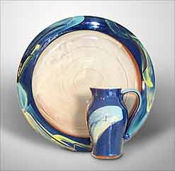 Penny Simpson plate and jug