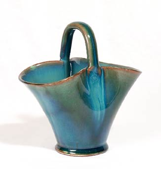 Blue/green Dicker basket