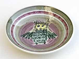Joe Lester owl dish