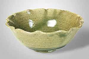 Seth Cardew celadon bowl