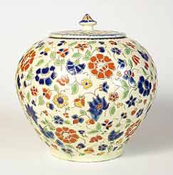 Lidded Thoune jar