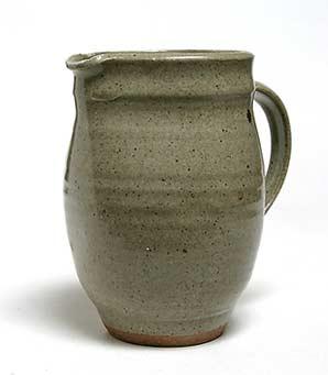 Green Aylesford jug