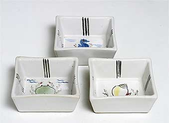 Square Buchan dishes