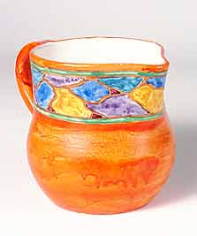 Orange joyous jug