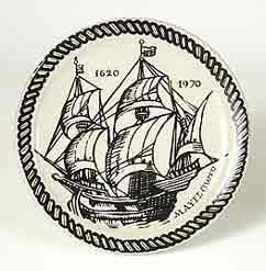 Rye Mayflower plate
