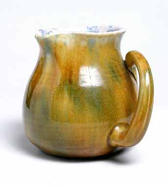 Ewenny jug with side handle